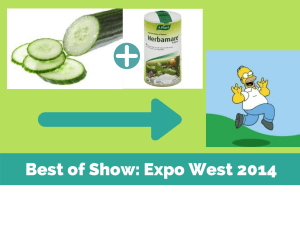 Best of Show- Expo West 2014