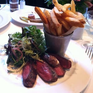 Steak Frites and Salad