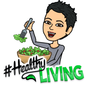 bitmoji Healthy LIving